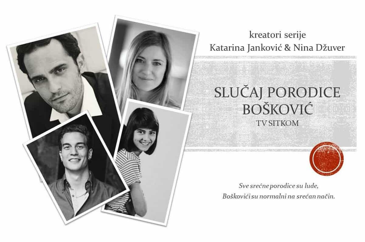 """Seka Sablić trenutno snima novu humorističnu seriju """"Slučaj porodice Bošković"""" koju ćemo gledati na proleće 2020. godine."""