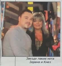 Zorana Pavić i Nenad Knežević Knez 2000.