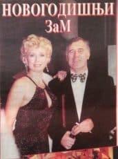 Suzana Mančić i Vanja Bulić 2000.