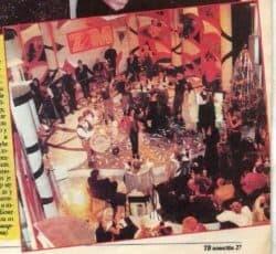 Sa snimanja novogodišnjeg ZAM-a 2000.