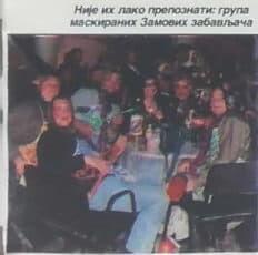 Kostimirani ZAM-ovi pevači 2000.