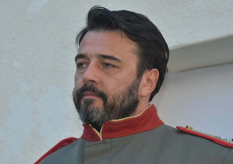 Ivan Vuckovic kao pukovnik Nikola Stefanovic  Milojev dar