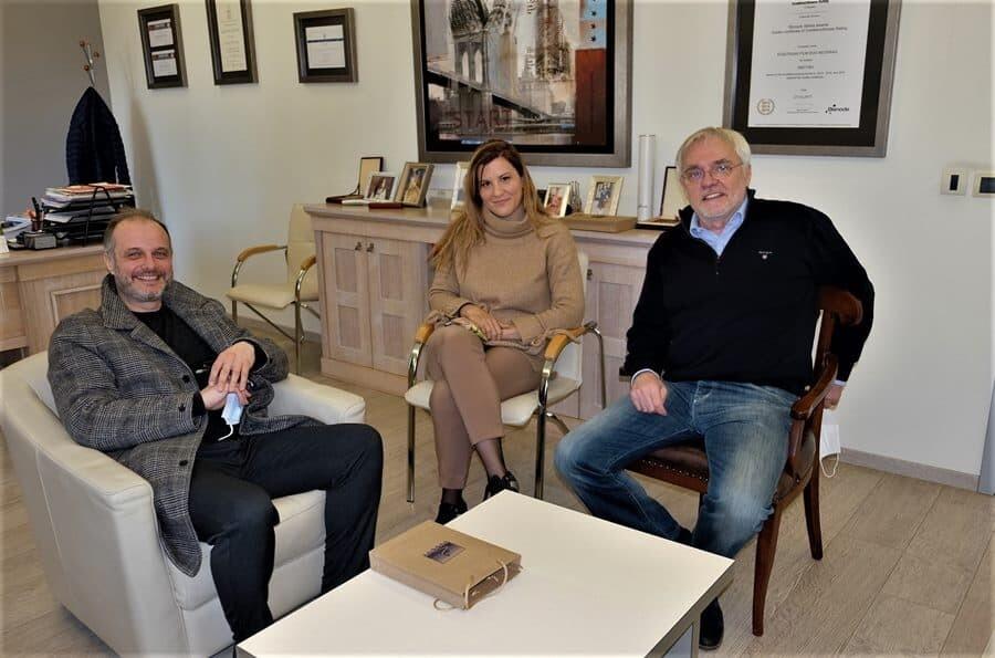 Gordan Matic, Visnja Nikitin i Zoran Jankovic, foto Djorjde Bajic