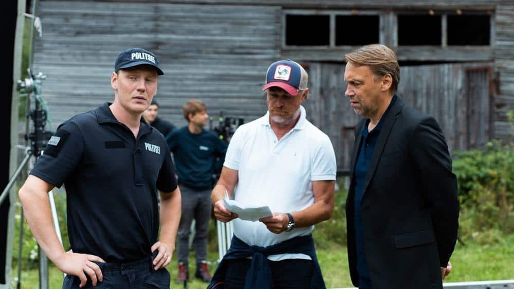 Igor Stoimenov u društvu estonskih poznatih glumaca Hendrik Toompere Jr. Jr. i Gert Raudsep