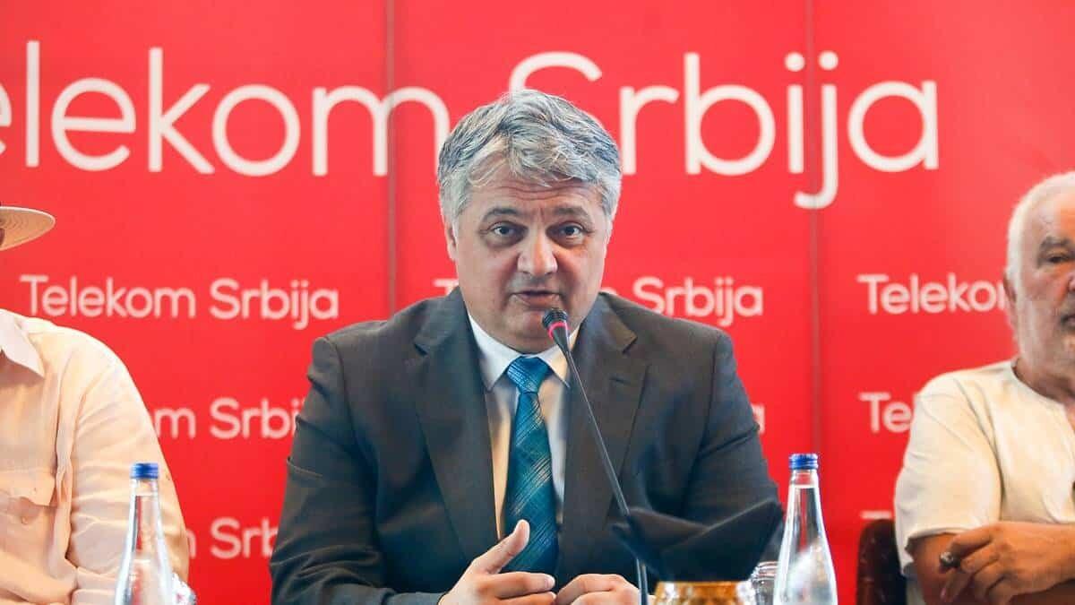 Vladimir Lučić, generalni direktor Telekoma Srbija / Foto: Telekom Srbija promo