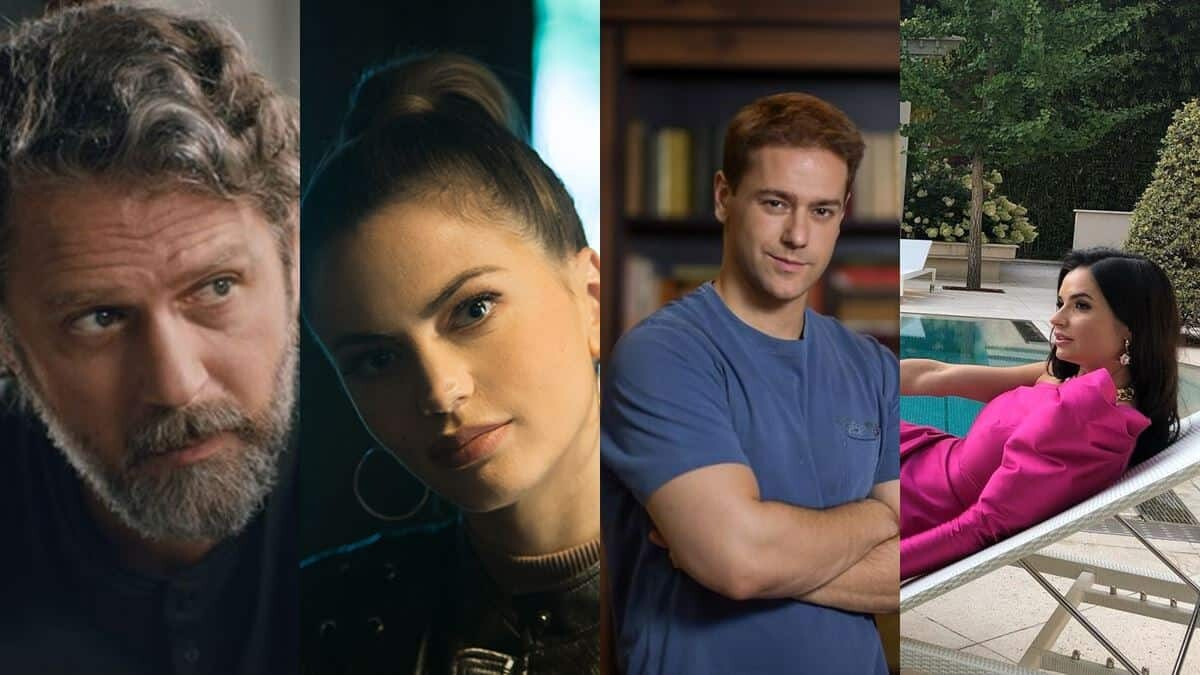 Devet premijernih domaćih TV serija, Foto: Monte Royal Pictures / Telekom Srbija /Prva TV - Aleksandar Krstović / Instagram - Marija Karan