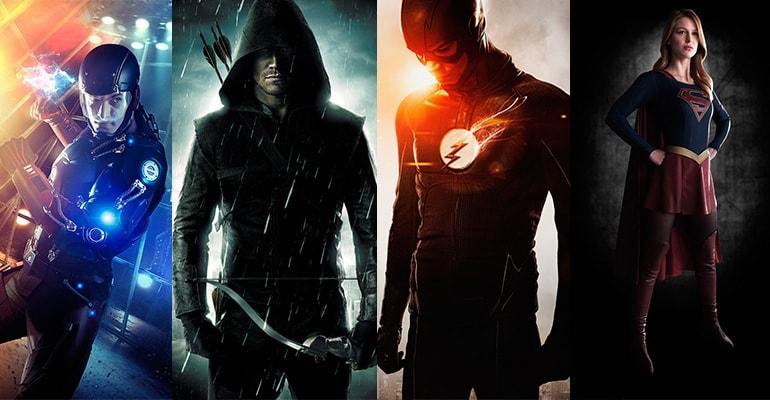 lot arrow the flash supergirl